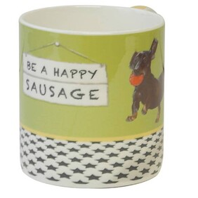 Happy Sausage Mug