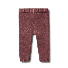 Knitted Legging - Wild Ginger Fleck